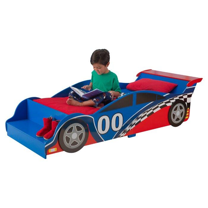KidKraft Racecar Toddler Bed & Reviews | Wayfair.co.uk