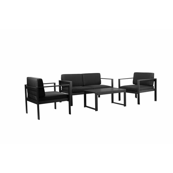 Gomer 4 Piece Sofa Set by Orren Ellis