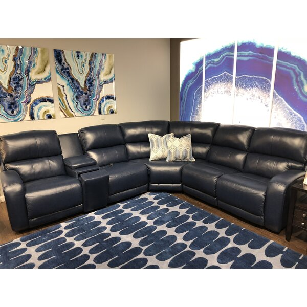 Fandango Reversible Reclining Sectional by Southern Motion