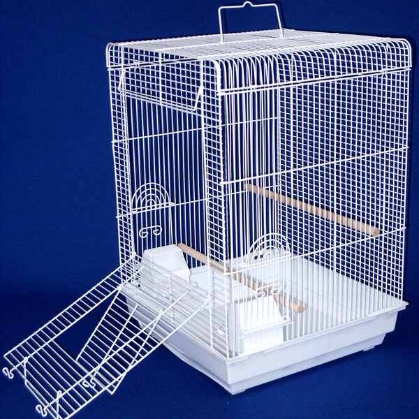 Flat Top Bird Cage by YML
