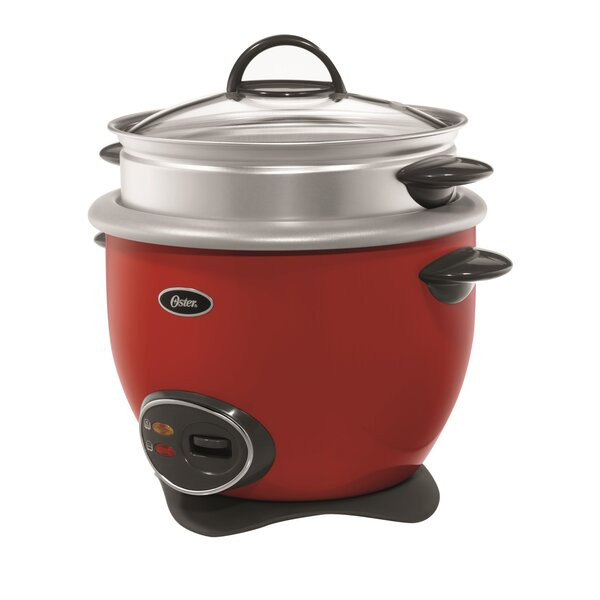 Oster 14-Cup Rice Cooker with Steam Tray by Oster