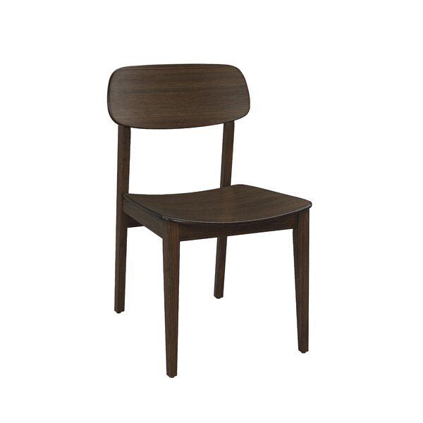 Baronville Solid Wood Slat Back Side Chair (Set of 2) by Brayden Studio Brayden Studio