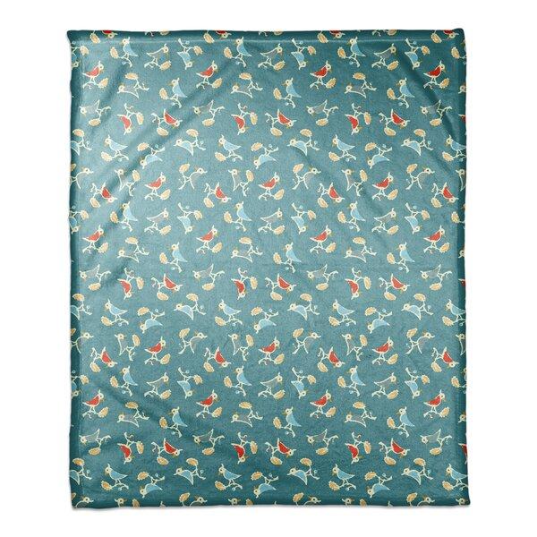 Hernadez Songbird Pattern Blanket by Red Barrel Studio