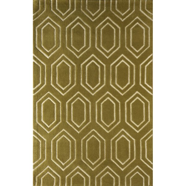 Graceland Hand-Tufted Pear Area Rug by Mercer41