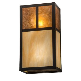 Reviews Alluvial 2-Light Outdoor Flush Mount By Bloomsbury Market