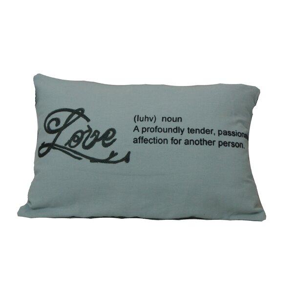 Defino Love Lumbar Pillow by Ivy Bronx