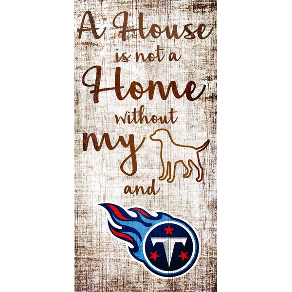 Nfl Team A House Is Not A Home Sign Textual Art On Wood By Fan Creations.