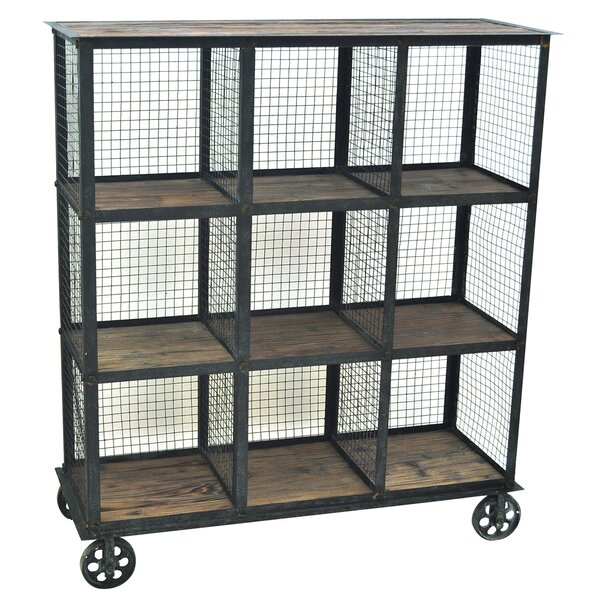 Industria Cube Unit Bookcase by Crestview Collection