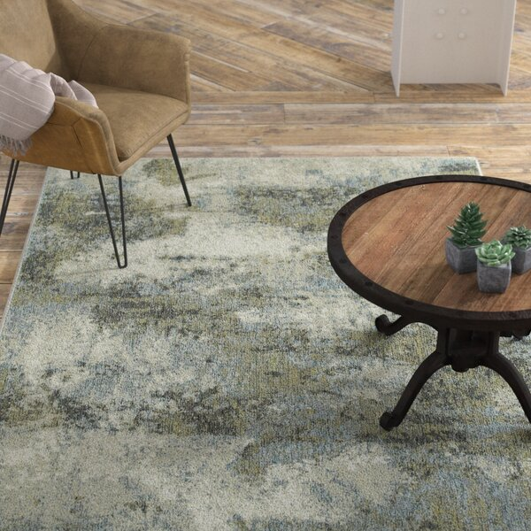 Knox Haze Blue/Green Area Rug by Williston Forge