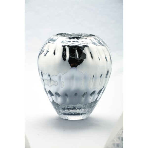 Table Vase by Diamond Star Glass