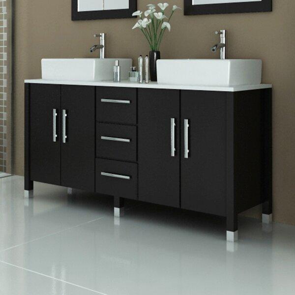Sirius 59 Double Bathroom Vanity Set by JWH Living