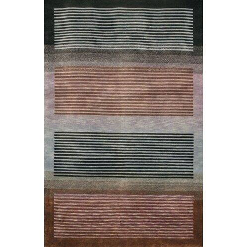 Caines Grey/Brown Area Rug by Fleur De Lis Living