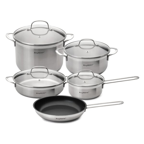 Bistro 9-Piece Cookware Set by BergHOFF International