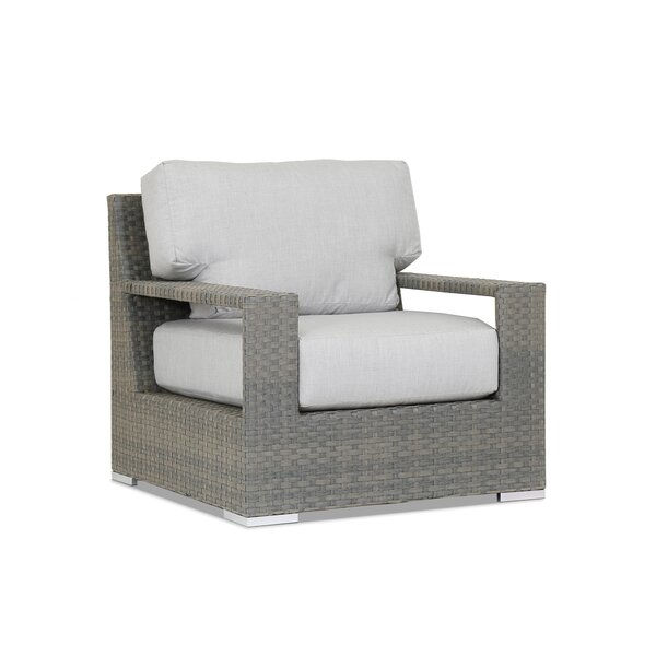 Hampton Patio Chair with Sunbrella Cushions by Sunset West