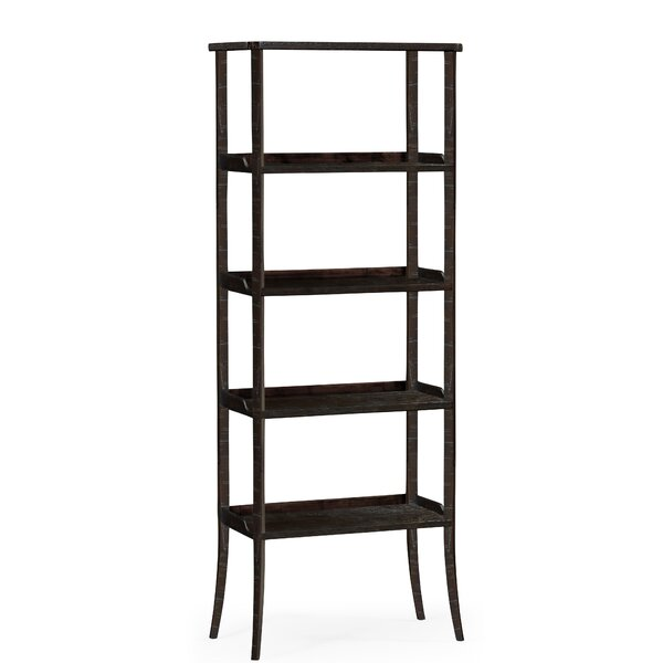 Four-Tier Etagere Bookcase By Jonathan Charles Fine Furniture