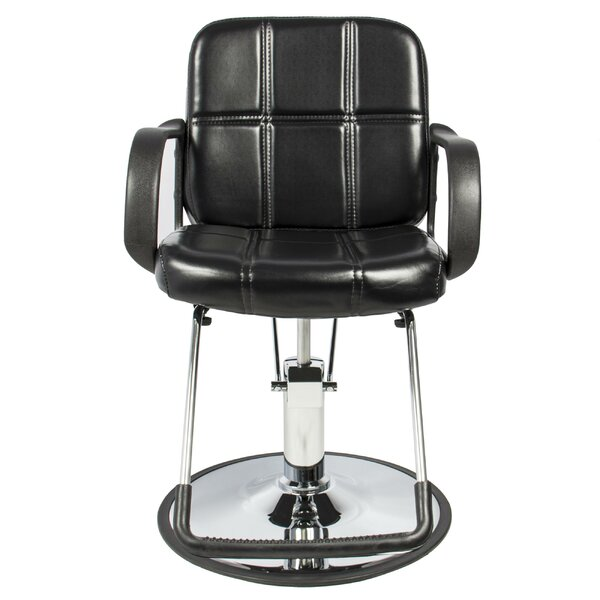 Classic Hydraulic Barber Reclining Massage Chair By Ebern Designs