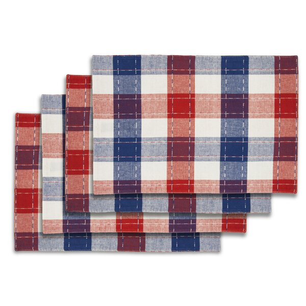 Callan Plaid 19 Placemat (Set of 4) by August Grove
