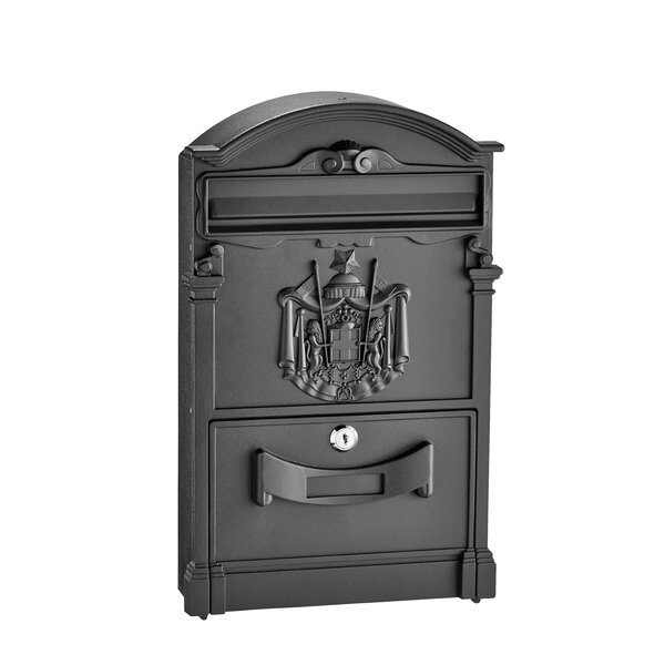 Old Europe Locking Wall Mounted Mailbox by AdirHome