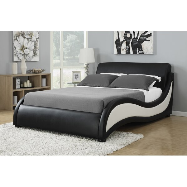 Olveston Upholstered Platform Bed by Orren Ellis