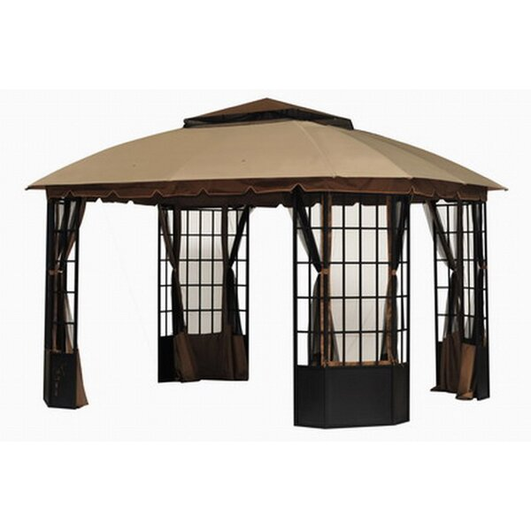 Replacement Canopy for Bay Window Gazebo by Sunjoy