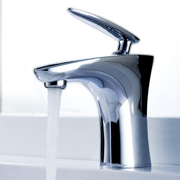 Tone Single Hole Bathroom Faucet with Drain Assembly by ANZZI