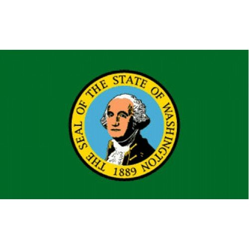 Washington Traditional Flag by NeoPlex