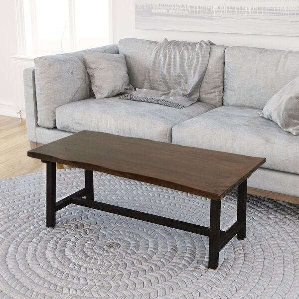Salazar Trestle Coffee Table by Union Rustic Union Rustic