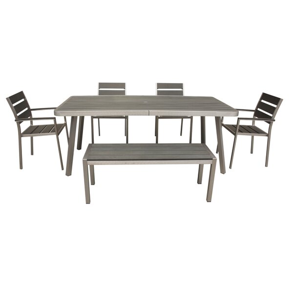 Patel 6 Piece Dining Set by Brayden Studio