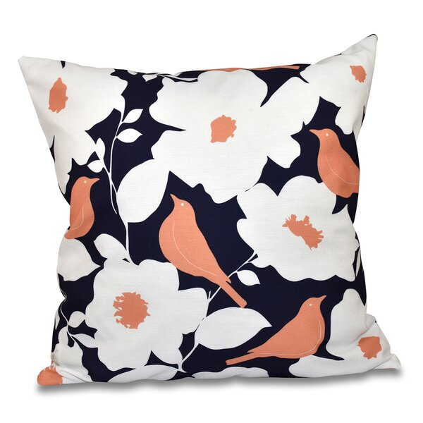 Franca Modfloral Outdoor Throw Pillow by Darby Home Co