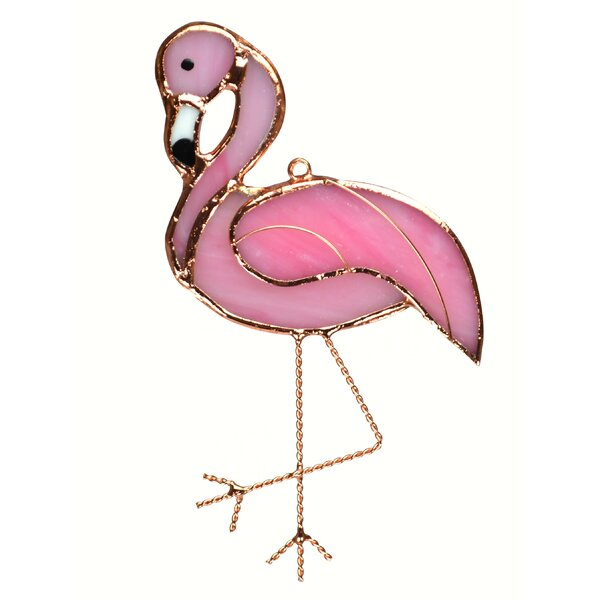 Grote Flamingo Suncatcher by Bay Isle Home