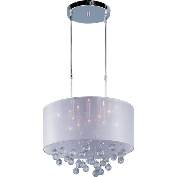 Happel 9 - Light Candle Style Drum Chandelier By Mercer41