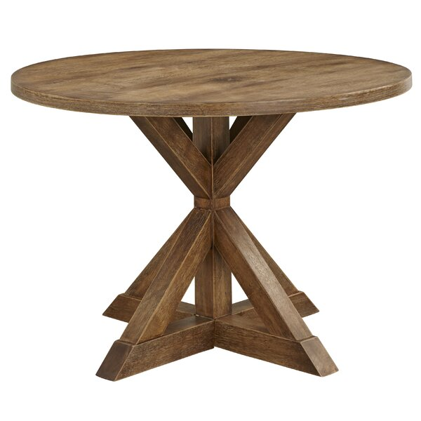 Skyview Pedestal Dining Table by Ophelia & Co.