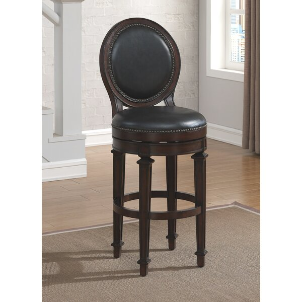 Alton Swivel Bar Stool by Darby Home Co