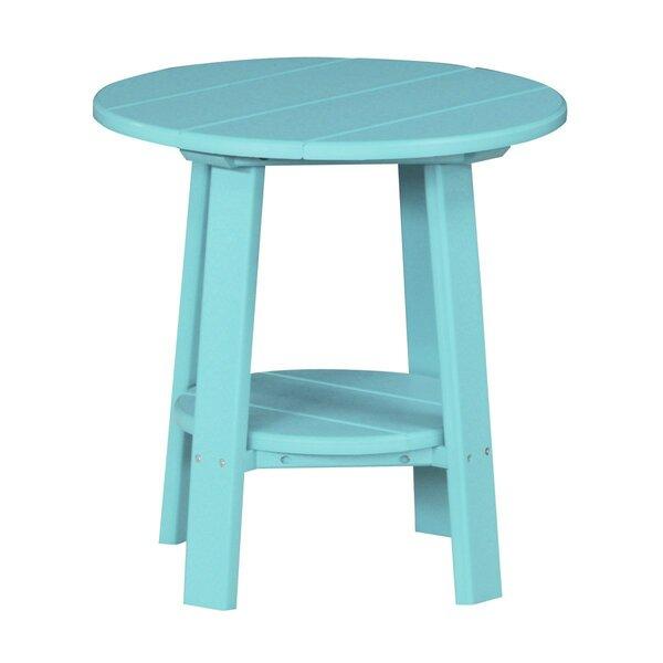 Allicia Plastic Side Table by Ebern Designs