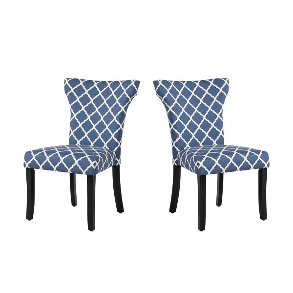 Danville Upholstered Dining Chair (Set of 2) by Charlton Home