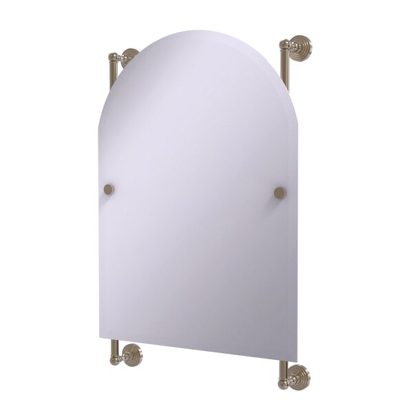 Beresford Arched Top Traditional Beveled Wall Mirror