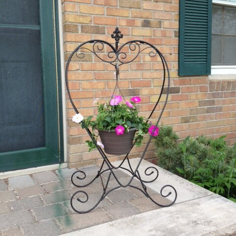 Heart Plant Stand by Artscapes