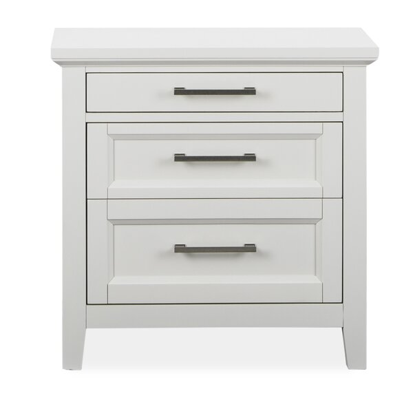 Wirksworth 3 Drawer Nightstand by Red Barrel Studio