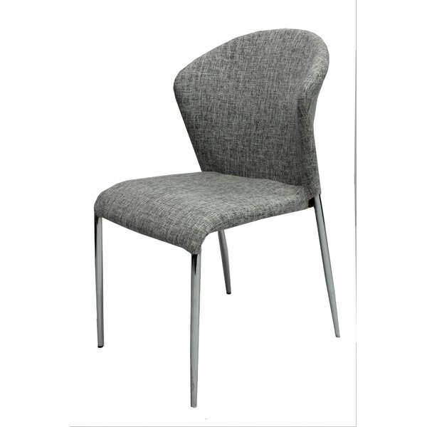 Bank Street Upholstered Dining Chair by Ivy Bronx