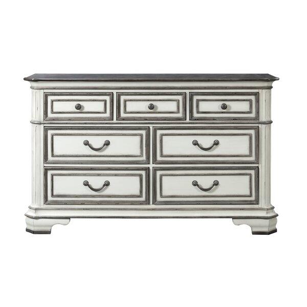 Newsom 7 Drawer Double Dresser by House of Hampton