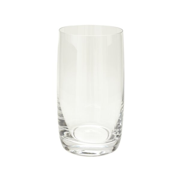Crysta 13 oz. Crystal Highball Glass (Set of 6) by IMPULSE!