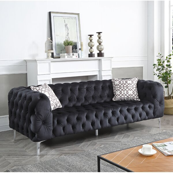 Modern Style Verena Sofa by Everly Quinn by Everly Quinn