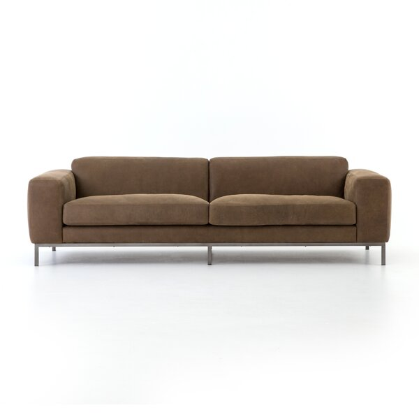 Offers Priced Doutzen Leather Sofa - 96