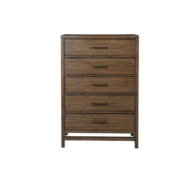 Higgenbotham 5 Drawer Chest by Union Rustic