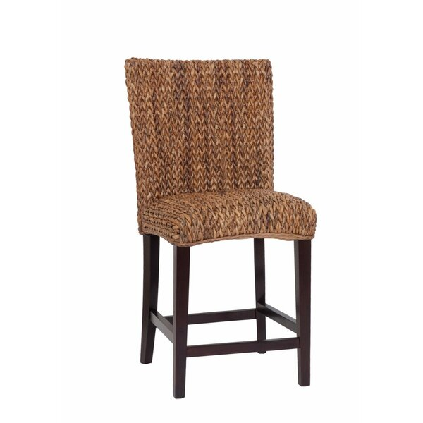 Hannibal Casual Woven Bar Stool (Set of 2) by Bayou Breeze