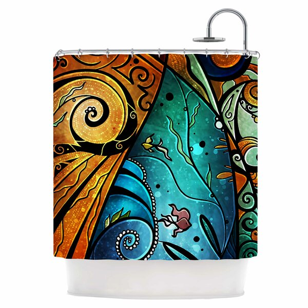 Sea Dance Shower Curtain by East Urban Home