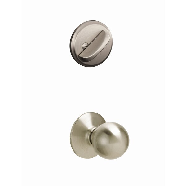 Orbit Handleset Interior Knob by Schlage