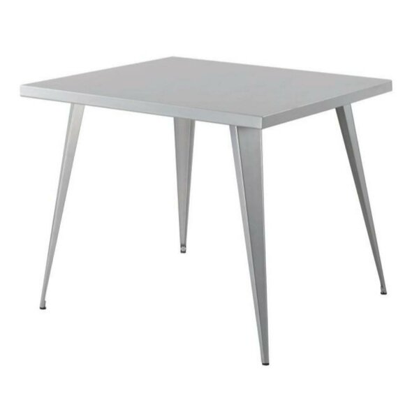 Mccrea Square Metal Counter Height Pub Table by Williston Forge