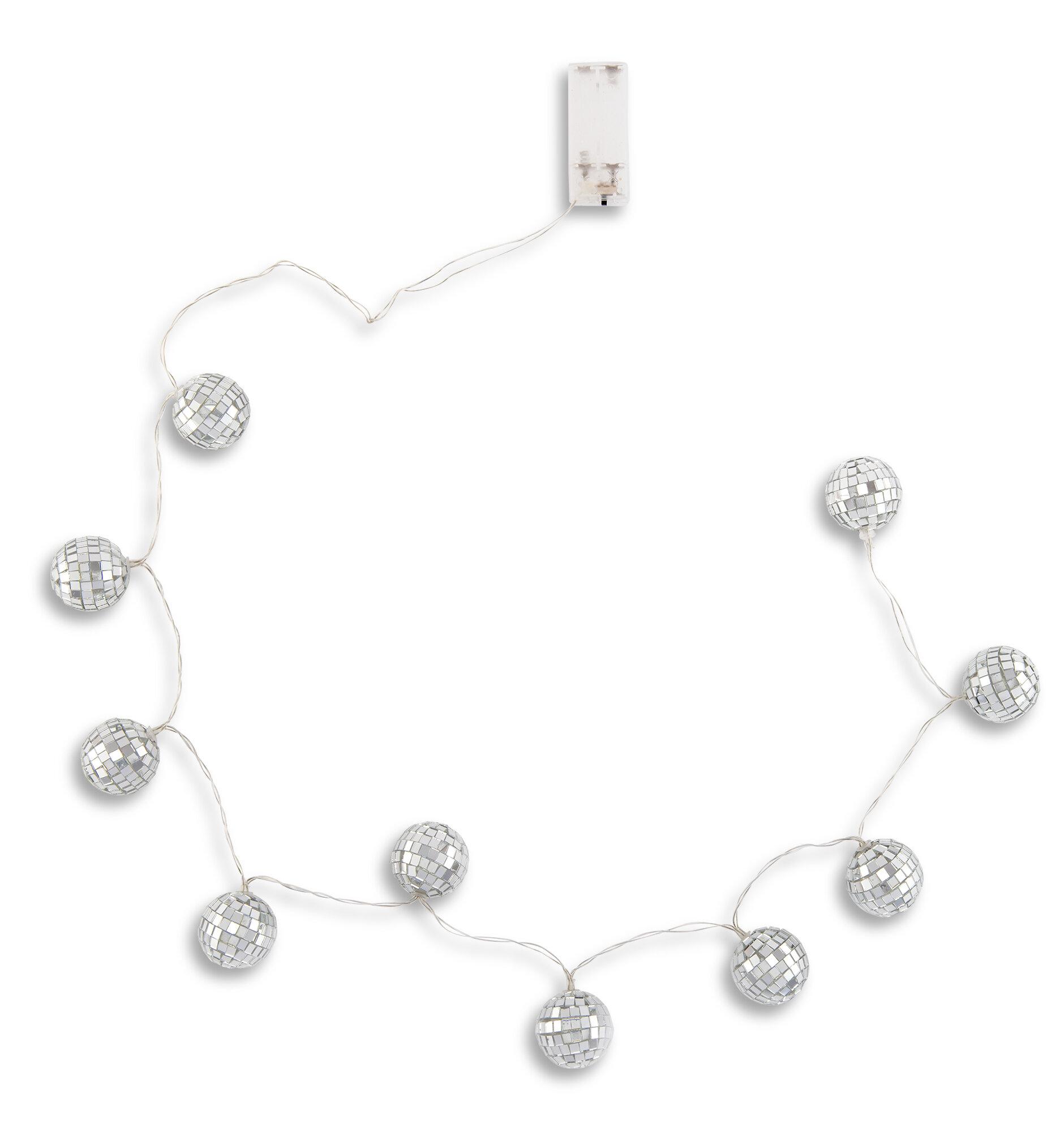 The Party Aisle Bourgeois 50 Outdoor Led 10 Bulb Novelty String Light Wayfair