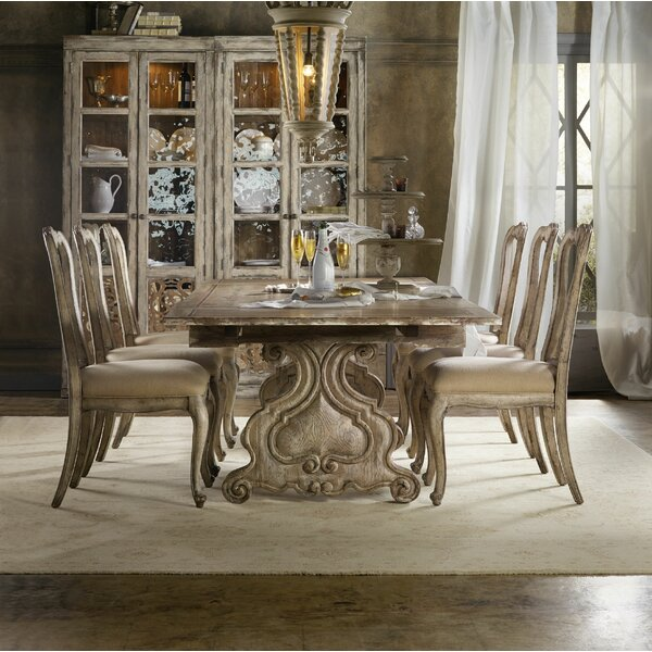 Chatelet 7 Piece Extendable Dining Set by Hooker Furniture Hooker Furniture